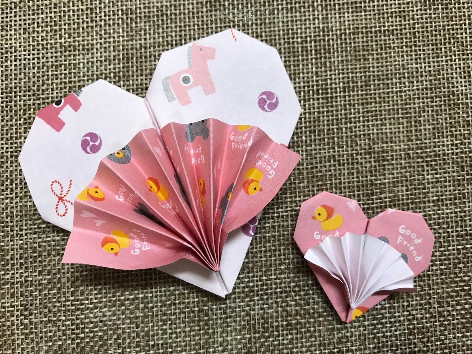 Tutorial #31: Origami Heart with Little Fan   The Idea King