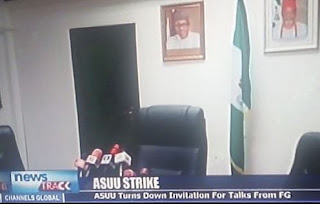 ASUU did not show up for meeting with FG