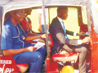 Akwa Ibom son designs solar powered tricycle as his final year project