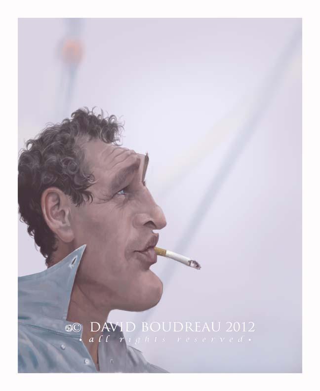 """Paul Newman"" por David Boudreau"