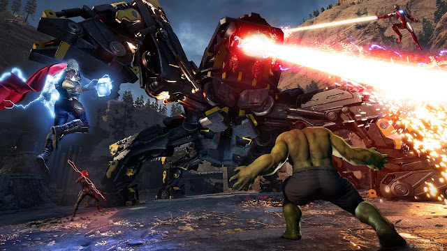 Marvel's Avengers Co-op Multiplayer War Zone Information details Third War Table Avengers Initiative