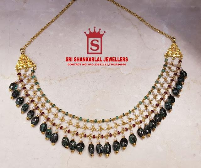Multi Layer Beads Jewelry by Sri Mahalaxmi Jewellers