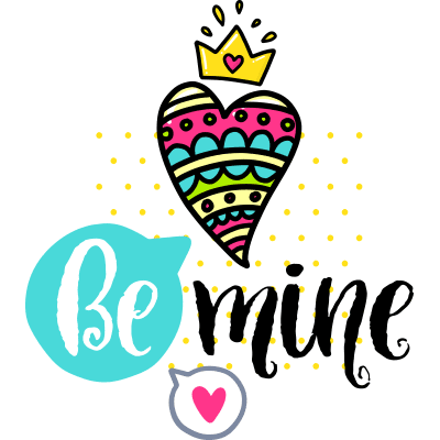 Be Mine Sticker