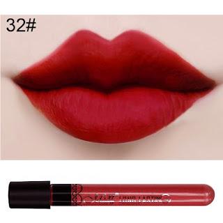 gloss rojo long lasting