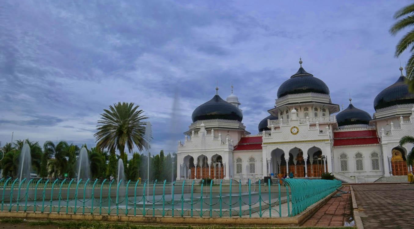 masjid unik dan sakti di Aceh tidak mempan di terjang Tsunami
