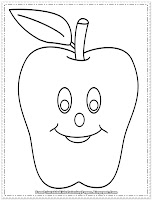apple coloring pages to print