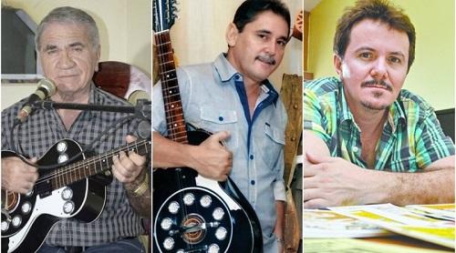 Geraldo Amâncio, Jorge Macedo e Klévisson Viana
