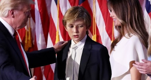 What People should have Tweeted to Barron Trump.