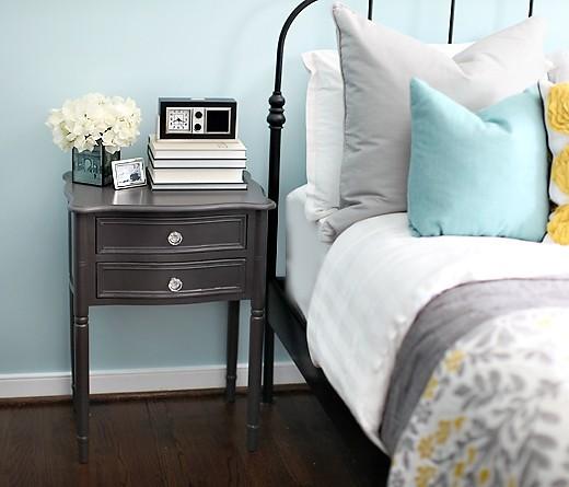 JPM Design: Turquoise & Gray