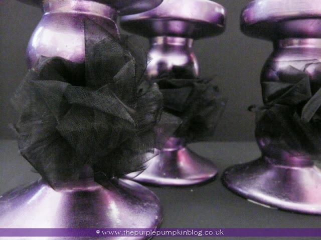 Organza Bows | The Purple Pumpkin Blog