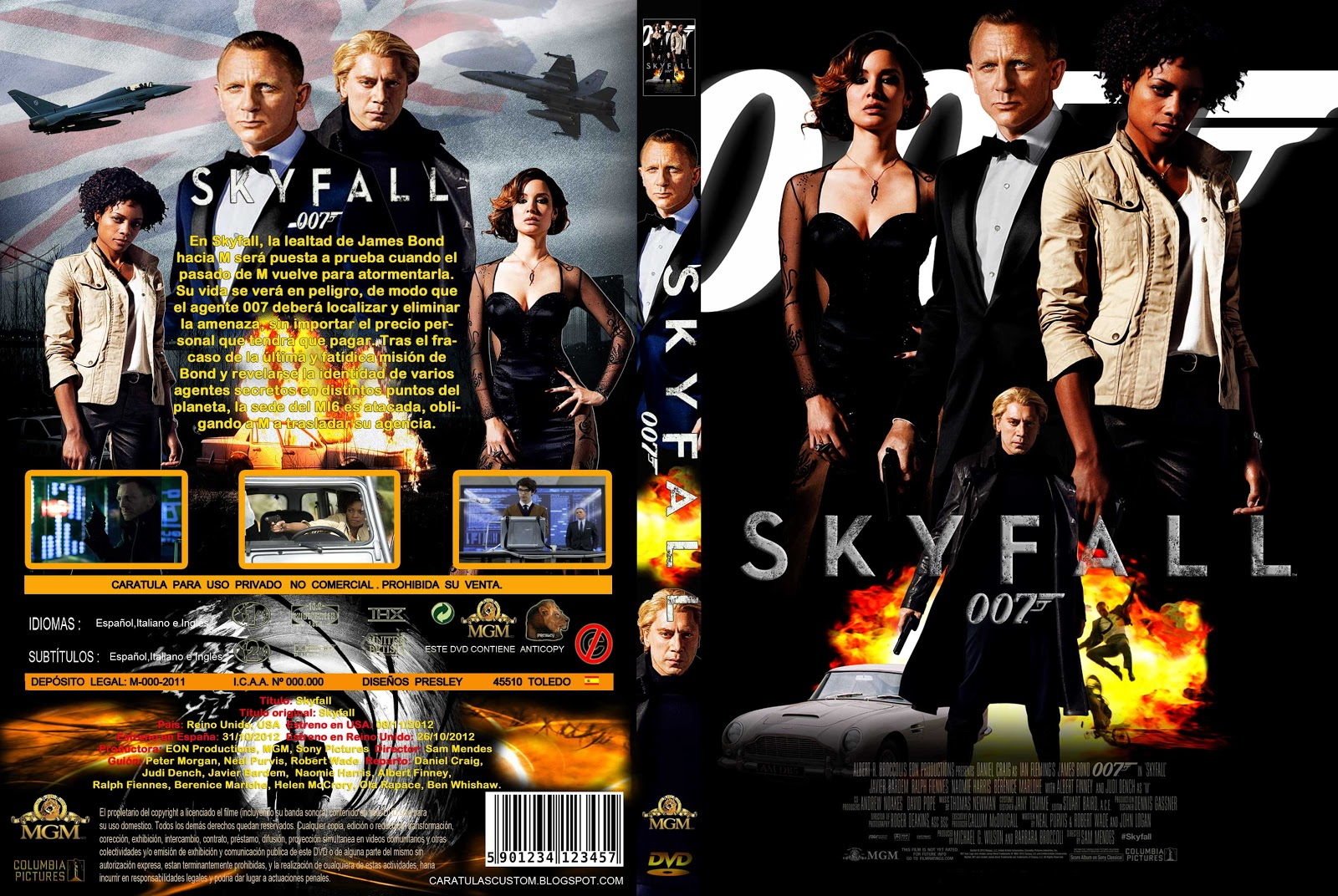 Pin Skyfall Dvd ...007 Skyfall Dvd Cover