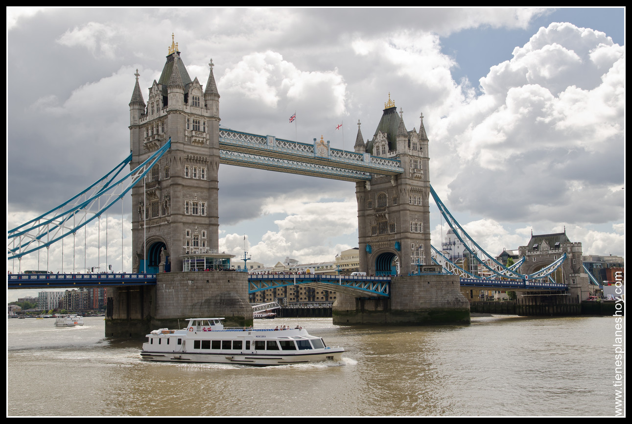 Puente Torre de Londres Londres (Tower Bridge London) Inglaterra