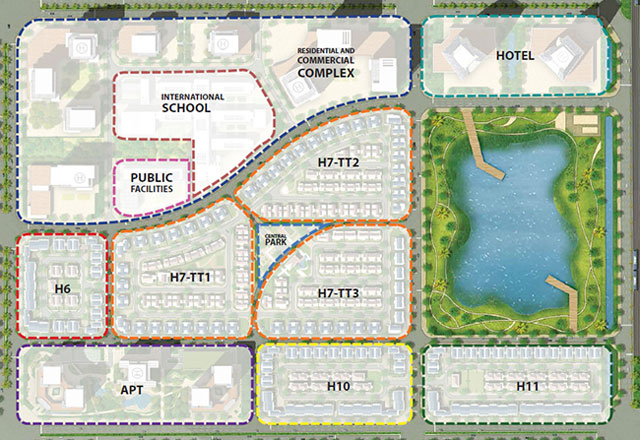 Quy hoạch Star Lake Tây Hồ Tây