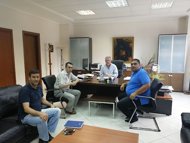 Συνάντηση Δημάρχου Ηγουμενίτσας με την Ένωση Αστυνομικών Υπαλλήλων του Νομού Θεσπρωτίας