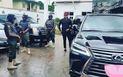 E-Money: See How Customs impounded Kcee brother's luxury cars
