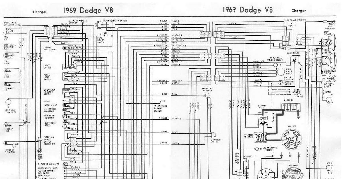 69 Dodge Dart Wiring Diagram