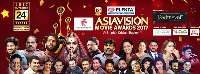 Asiavision Movie awards 2017 -Winners List