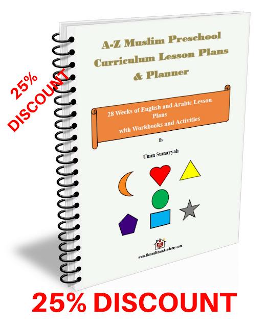 A-Z Muslim Preschool Curriculum Lesson Plans & Planner! - 25