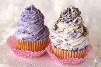 Jabon Cupcake Remolino Lila-Mixto
