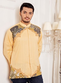 Baju batik koko trendy dan elegan