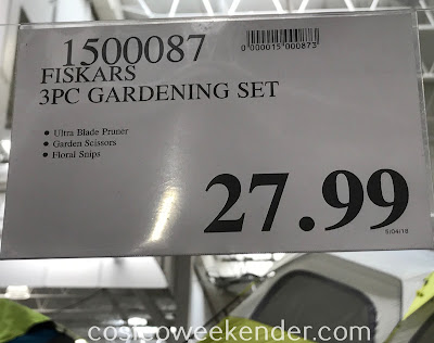 Deal for the Fiskars 3-piece Gardening Set at Costco