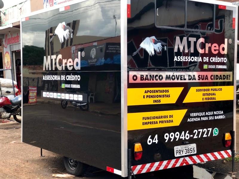 Inovação: em um trailer, franqueada da MTCred roda cidade e leva empréstimos até o cliente