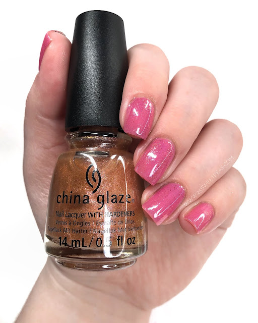 China Glaze Better Late Than Nectar 25 Sweetpeas