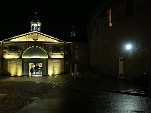 West entry to Piece Hall, Halifax, Yorkshire