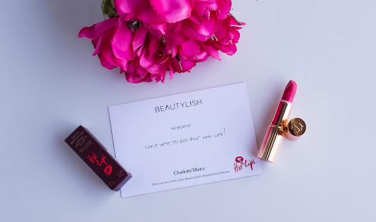 Hot Lips from Charlotte Tilbury - Electric Poppy | My Choice for Hot Pink Lips This Summer