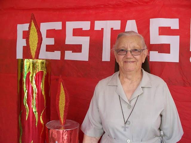 Morre aos 95 anos a Irmã Odiliana Smits, um dos símbolos da educação de Pão de Açúcar/AL