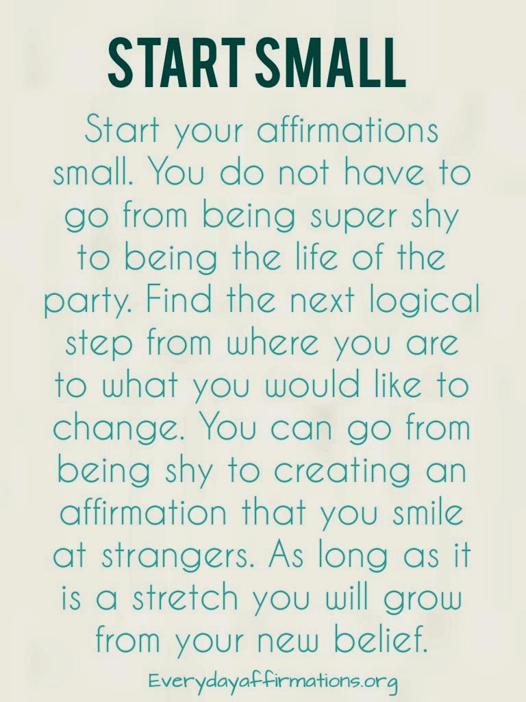 Tips to Make your Affirmations Work