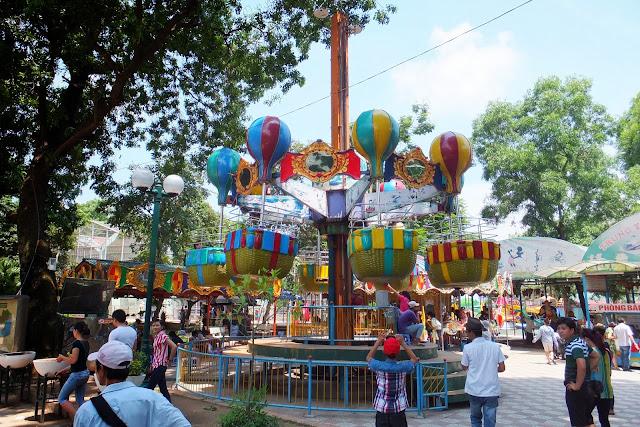 hanoi-zoo-machine ハノイ動物園遊具
