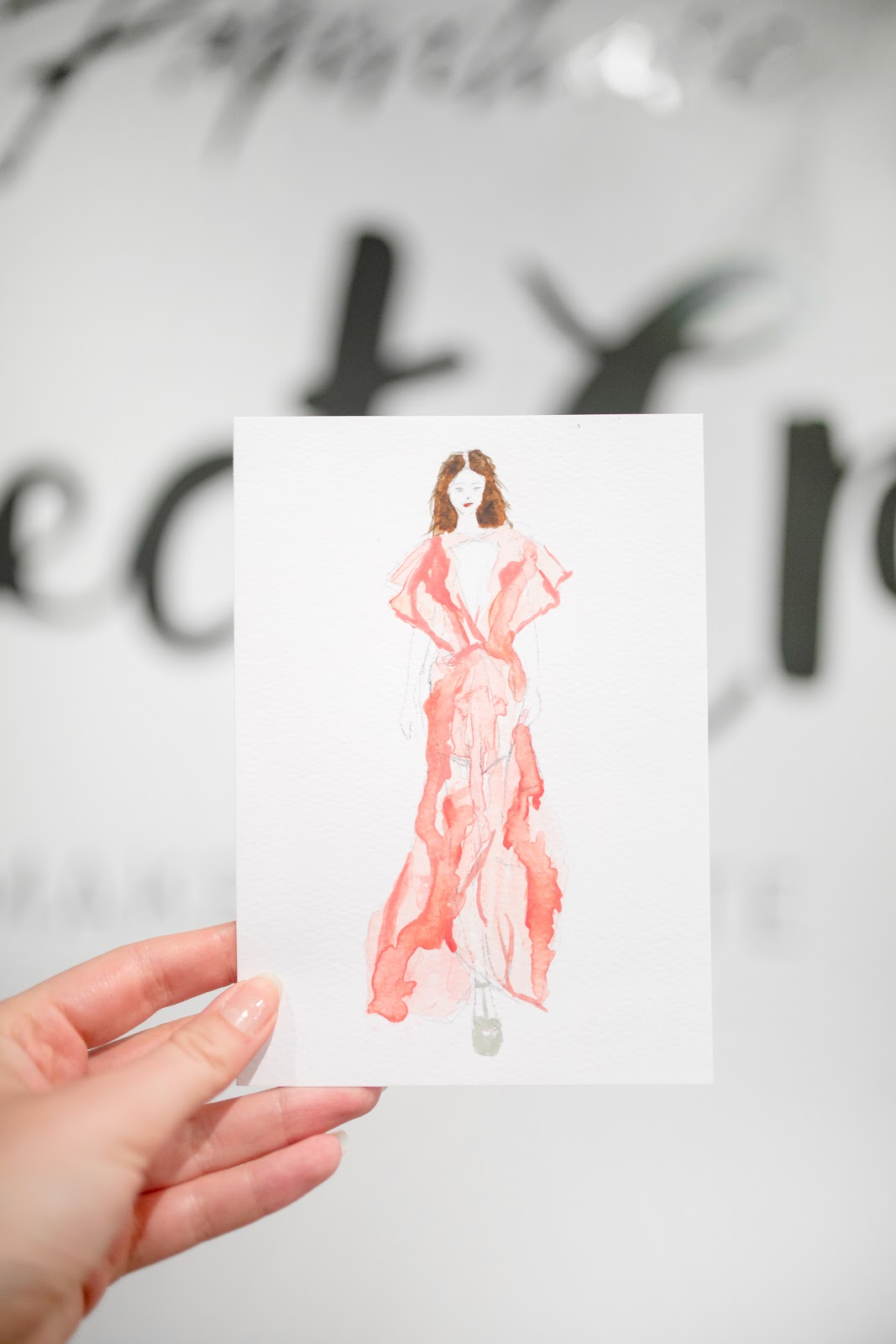FASHION ILLUSTRATION WITH PAPERCHASE + FASHIONARY