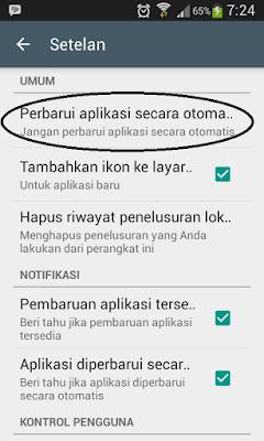 Tips dan Cara Menonaktifkan Update Otomatis Aplikasi Android di Google Play Store Hermanbagus