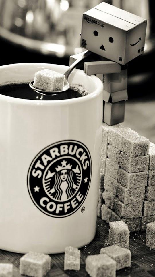 Starbucks Coffee Box Man   Galaxy Note HD Wallpaper