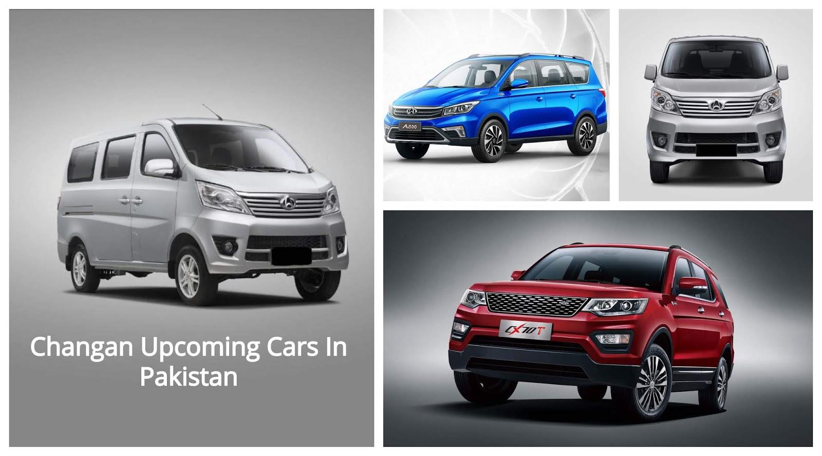 Changan Upcoming Cars In Pakistan