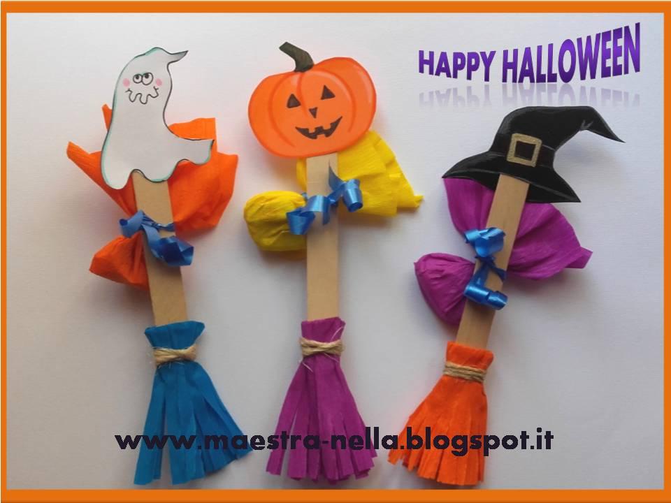 Extrêmement maestra Nella: le scope di Halloween KZ96