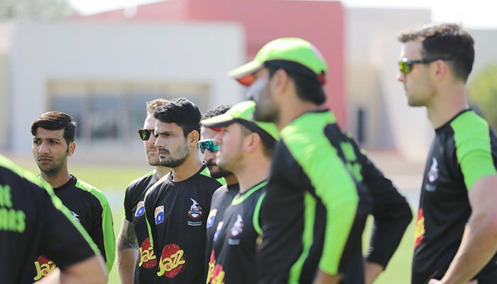 Lahore Qalandars Hold Practice Session Ahead of PSL 2017