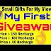 Hindi Hacker First Giveaway