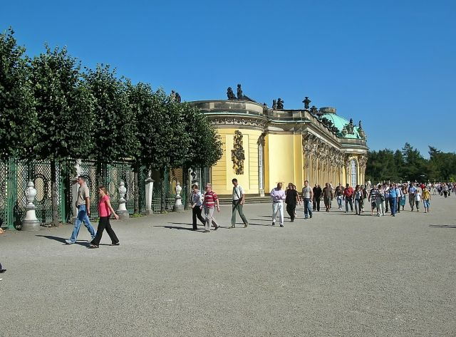 Niemcy, pałac, Poczdam, Hohenzollern