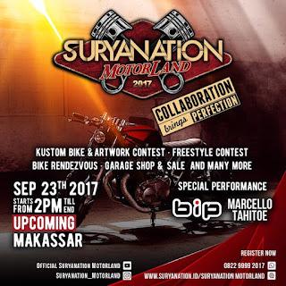 Koleksi Foto Suryanation Motorland 2017 Terbaru