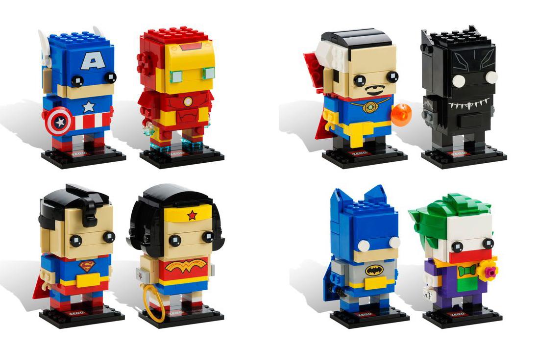 [Produit] Fin de la gamme Mixels après la Série 9 LEGOBRickheadz