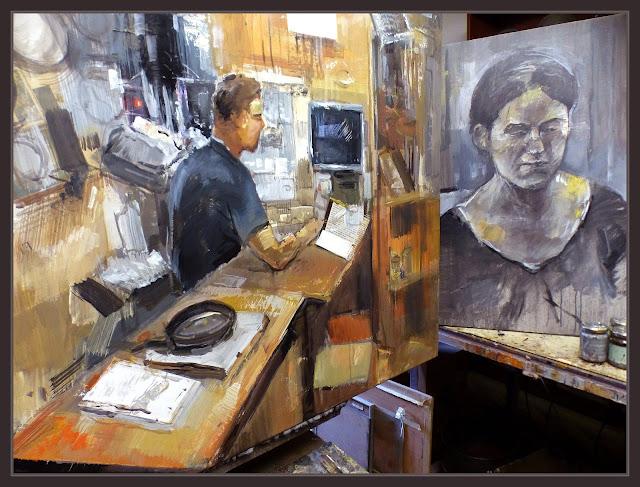 INTERIORS-BOTIGUES-MANRESA-RETRATS-PINTURA-RATPENAT-BOTIGA-EL CARIBU-PERSONATGES--ART-PLASTICA-FOTOS-ESTUDI-ARTISTA-PINTOR-ERNEST DESCALS