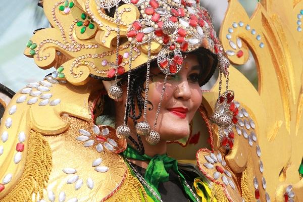 Fashion Carnaval - Festival Budaya Nusantara 2 tahun 2018 Kota Tangerang