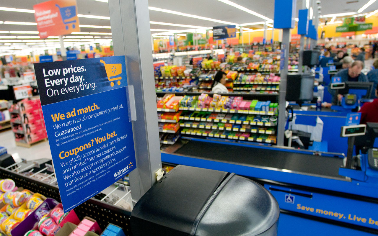 wal mart is the enemy Smithfield foods' ceo larry pope criticized walmart for putting pressure on meat producers to keep prices low, saying an inability to raises prices means it will be hard to produce meat more.