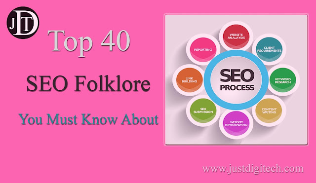 Top 40 SEO Folklore You Must Know About