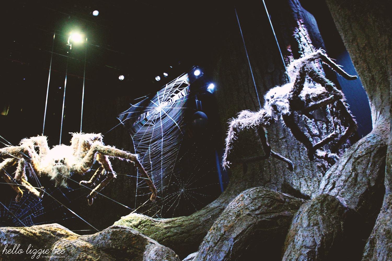 forbidden forest spiders