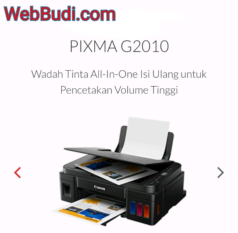 Download Driver dan Master Software Printer Canon PIXMA
