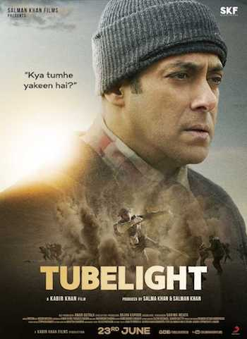 Tubelight 2017 Hindi DVDScr x264 700MB