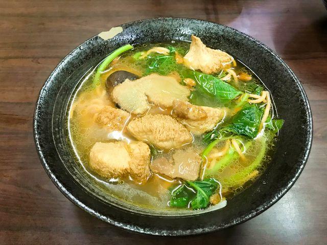 香米素食麻油猴頭菇麵